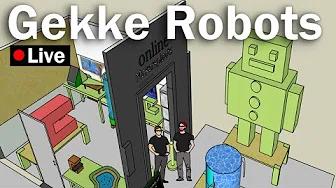 Sketchup – Gekke Robots