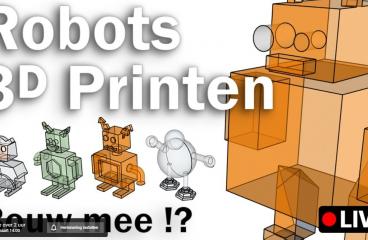 Wij printen jullie 3D ontwerpen