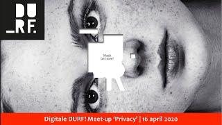 DURF! Meetup – 16 April – Privacy