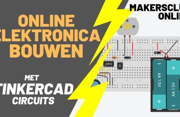 Elektronica bouwen online – met TinderCAD Circuits – MakersClub Online