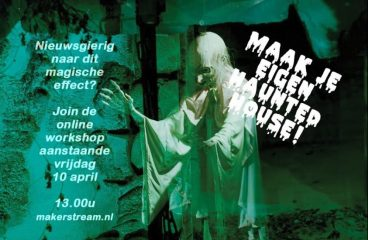 Maak een haunted house mét een Pepper's Ghost / Hologram illusie! (12+)