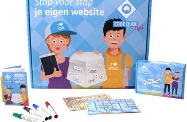 Code Qube : Maak je eigen website