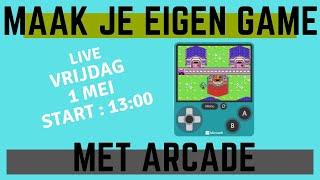 Maak je eigen game met Makecode Arcade