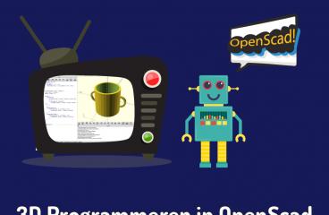Leer 3D programmeren in OpenScad