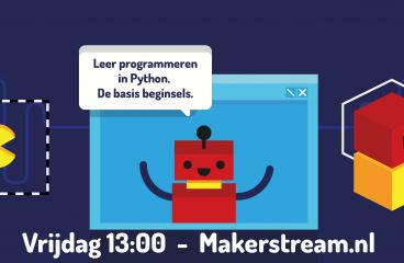 Makerstream – Basis programmeren in Python