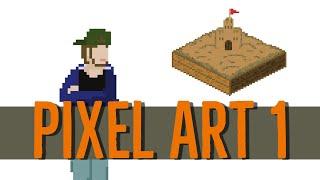 ZANDBAK Pixel Art Aflevering 1: Zelfportret